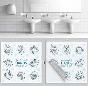 Hse Information Sticker - Hand Washing Guide