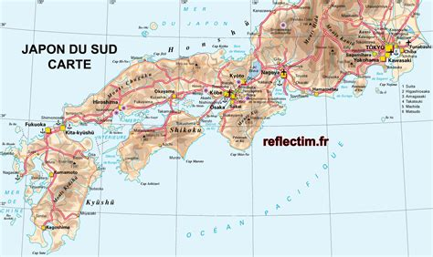 Carte Du Monde Japon by Japon Carte Du Monde Voyages Cartes
