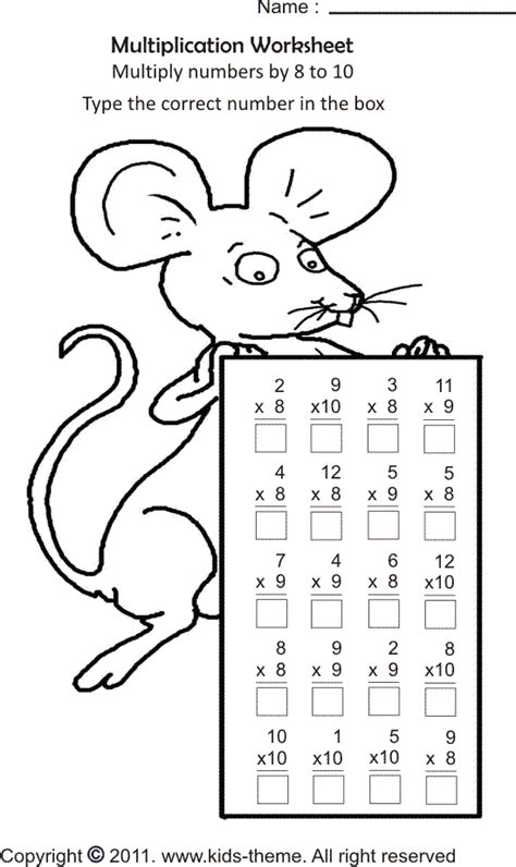 math coloring pages 3rd grade in grade 2 and grade