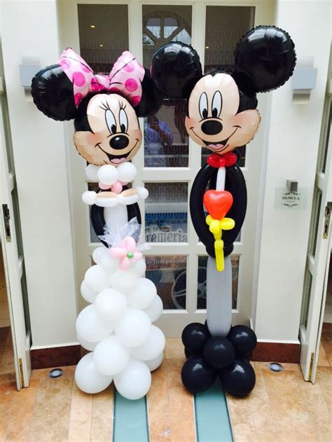 Mickey And Minnie Balloon Decorations - 80 best mickey minnie mouse balloon sculpture images on