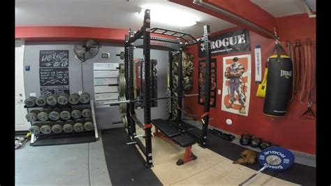 rogue rack fitness monster