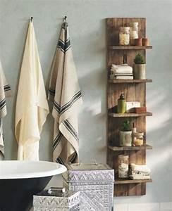 Etagere En Bois Salle De Bain : colonne salle de bain pensez exploiter l 39 espace vertical ~ Preciouscoupons.com Idées de Décoration