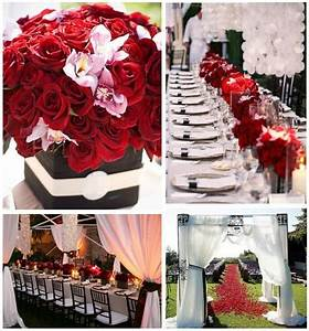 Red Black And White Wedding Ideas | Car Interior Design