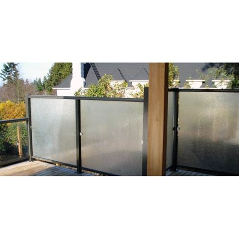 how to block wind handyman hookup wind block tempered glass railing walls for your deck