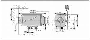 2 2kw Diesel Air Heater - Rv Kit - Eberspacher