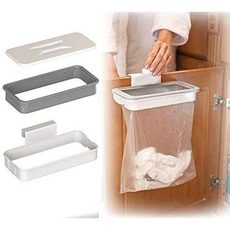 Cupboard Door Bin Bag Holder by Attach A Trash Hanging Trash Bag Holder Cupboard Door