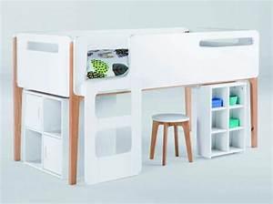 Hauteur Lit Mezzanine : 60 lits mezzanine pour gagner de la place elle d coration ~ Premium-room.com Idées de Décoration