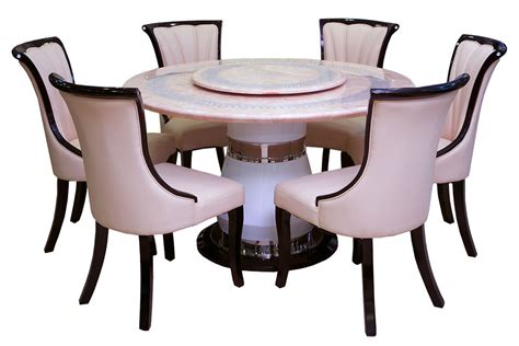 table spinning center designs marble dining tables