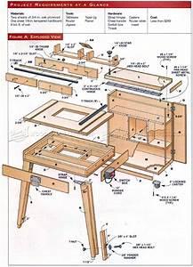 Mobile Router Table Plans • WoodArchivist