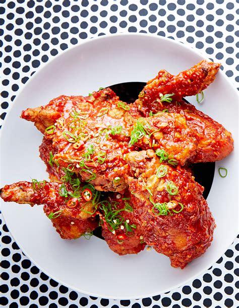 recettes de cuisine fr3 poulet frit coréen sauce piquante pour 4 personnes