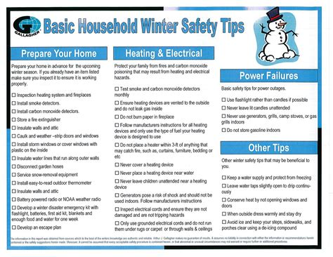 Er Nurses Care Winter Safety Series Your Home Wintersafety
