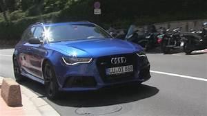 Audi Monaco : stunning sepang blue audi rs6 driving in monaco youtube ~ Gottalentnigeria.com Avis de Voitures