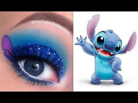 stitch makeup tutorial disneys lilo  stitch youtube