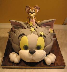 Tom and Jerry cake by Dragonsanddaffodils on DeviantArt