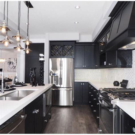 ideas  black kitchen decor  pinterest