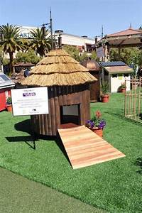 built by martin harris construction company the tiki hut With tiki dog house
