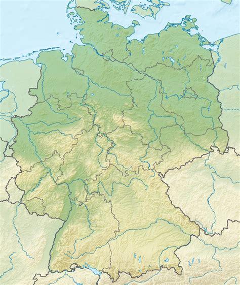 Ģeogrāfiskā karte - Vācija - 1,073 x 1,272 Pikselis - 2.02 ...