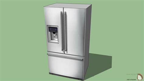 sketchup components  warehouse refrigerators