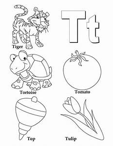 T Coloring Pages Coloring Home