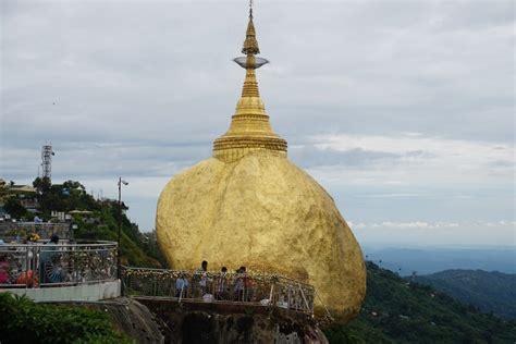 Visit The Golden Rock Myanmar Been Around Globe