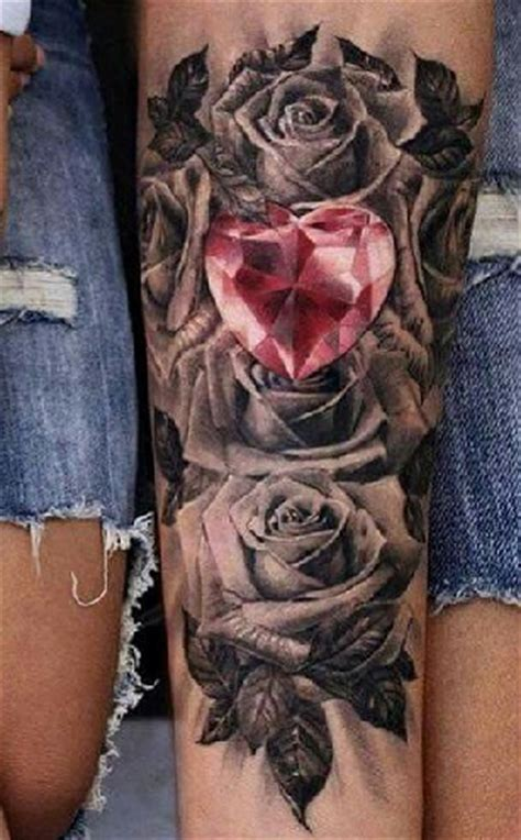 brilliant diamond tattoo designs  men  women