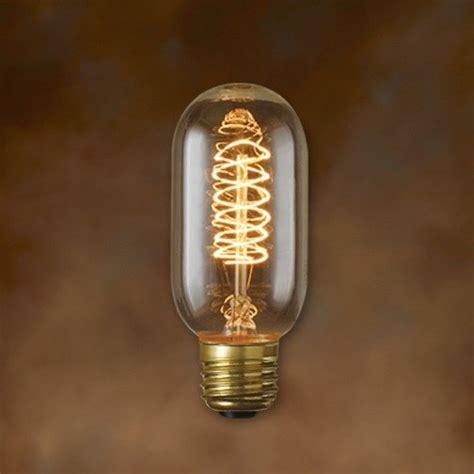 antique light bulbs bulbrite nos40t14 40 watt nostalgic edison t14 tubular