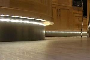 Kitchen Plinth Lighting In Kettering Kitchen Showroom