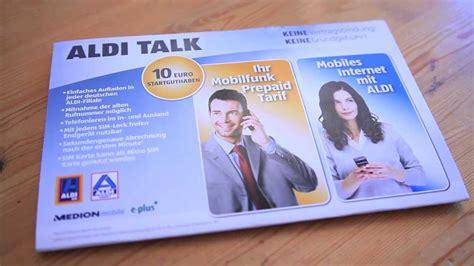 aldi talk micro sim youtube