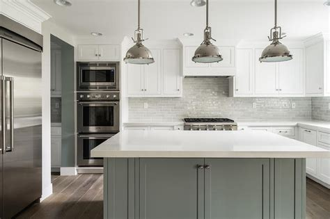 grey and white cabinets white and grey kitchen features white perimeter cabinets