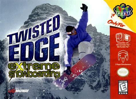 Twisted Edge Extreme Snowboarding Nintendo 64 N64