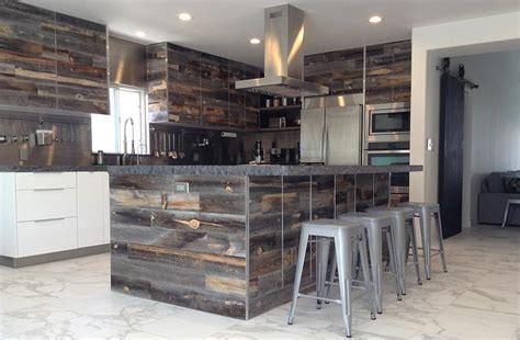 reclaimed wood kitchen backsplash 7 reclaimed wood kitchen ideas stikwood diy wood decor 4532