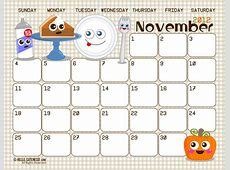6 Best Images of Free Cute Printable Monthly Calendars