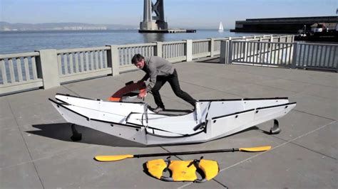 Foldable Boat Assembly by Oru Kayak Assembly