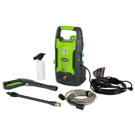 Greenworks Gpw1602 13 Amp 1600 Psi 12 Gpm Electric