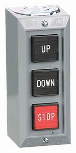Square D Push Button Control Station  2no  3nc Contact Form
