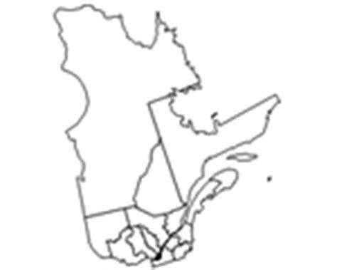 Carte Région Administrative Vierge by Canada Qu 233 Bec