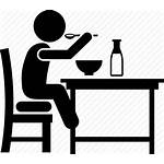 Icon Eating Breakfast Clipart Cartoon Disorders Child