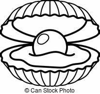 Shell Black And White Clipart | www.pixshark.com - Images ...