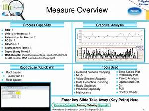 measure phase lean six sigma tollgate template With 4 blocker template