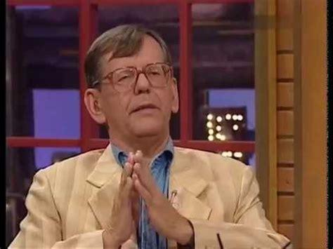 Zwei begnadete wortfechter, die sich. Herbert Feuerstein in der Harald Schmidt Show (03.09.1997 ...