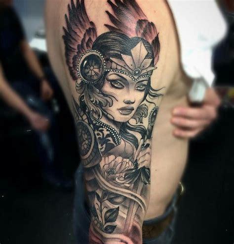 valkyrie tattoo ideas  pinterest norse tattoo