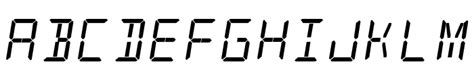 Font name, font file, author, themes, license. alarm clock free Font - What Font Is