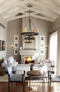 living room vaulted ceilings house