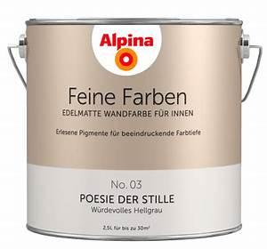 Alpina Licht Der Gletscher : alpina feine farben edelmatte wandfarben in grau alpina farben ~ Eleganceandgraceweddings.com Haus und Dekorationen