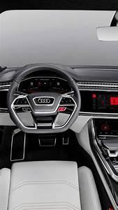 Wallpaper Audi Q8, 2018 Cars, interior, 4k, Cars & Bikes