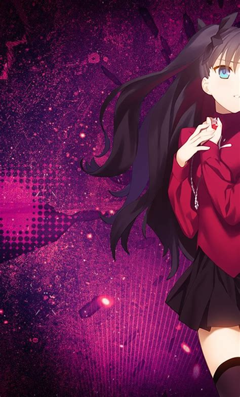rin tohsaka fate stay night unlimited blade works full hd