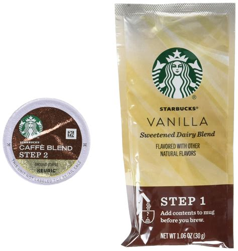 However, last week, the coffee chain giant shared a recipe to create them yourself. Starbucks - K Cups 6 ct - Caramel Caffe' Latte - ( Pack of 2 ): Amazon.com: Grocery & Gourmet Food