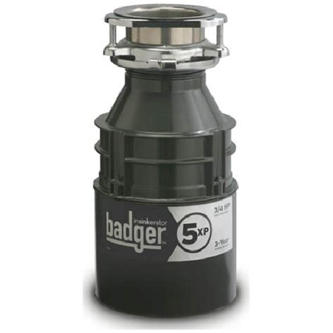 Badger Sink Disposal Manual by Quot Badger 5 Xp Quot Food Waste Disposer Rona