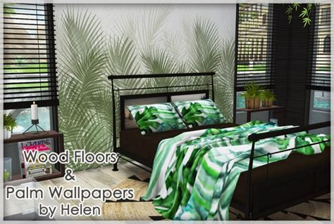 wood floors  palm wallpapers  helen sims sims  updates
