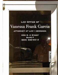 you know graphics law office of venessa frank garcia With door lettering business